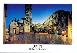 picture postcards postcards split croatia leave me here