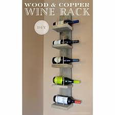 the knoxville holts wood u0026 copper wine rack diy