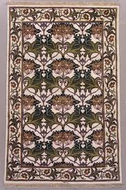 home decor area rugs jewel collection brown and cream 2 ft x 3 ft