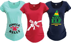 christmas shirts women s christmas maternity t shirts groupon