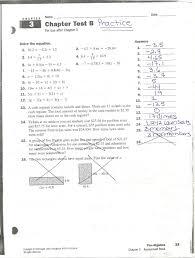 Glencoe Geometry Worksheets Mrs White U0027s Math Class Chapter 3 Practice Problems U0026 Answers