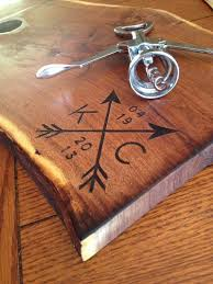 wedding cutting board amazing personalized cutting board wedding gift sheriffjimonline
