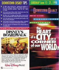 Map Of Downtown Disney Downtown Disney Guidemaps 2000 1991 Page 3