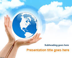 templates powerpoint earth free earth enviroment powerpoint template