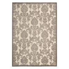 nourison urban safari shag runner rug chinchilla 2 3 nourison urban safari shag runner rug chinchilla 2 3