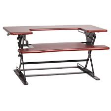 Adjustable Height Desk by Halter Ed 600 Height Adjustable Desk Sit Stand Ed 600che B U0026h