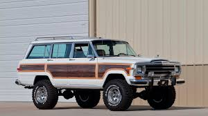 jeep wagoneer lifted 1988 jeep grand wagoneer custom s159 chicago 2017