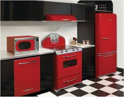Retro Kitchen Accessories by New Dark Red Kitchen Accessories