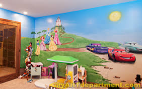 disney characters mural for kids playroom disney characters mural kids playroom princesses