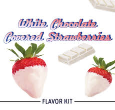 White Chocolate Covered Strawberries Delivery White Chocolate Covered Strawberry Diy Recipe Vape Wild