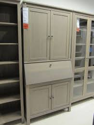 Ikea Hemnes Desk Secretary Desks With Hutch Foter Library U0026 Studio Pinterest