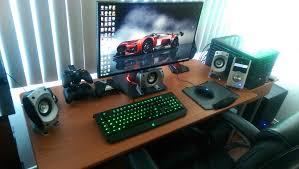gaming room setup ideas home decor desk accessories pc living