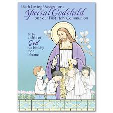with loving wishes for a special godchild communion godchild