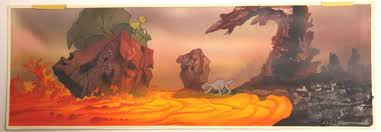 image littlefoot ducky spike land before time key concept don