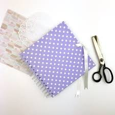 8x8 scrapbook album scrapbook album with lilac polka dot cover 8x8 inch with plain