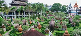 Nong Nooch Tropical Botanical Garden by One Of The Most Beautiful Garden In The World Nong Nooch