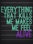 "Everything That Kills Me Makes Me Feel ALIVE"" OneRepublic | Song ..."