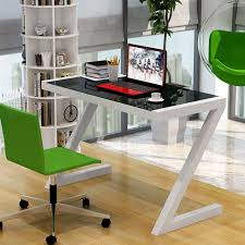 Stylish Computer Desk Simple And Stylish Home Desktop Computer Desk Glass Study Specials