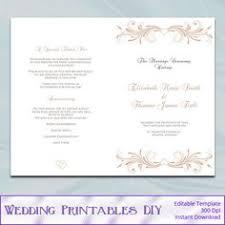 tea length wedding programs templates free catholic wedding program template diy black and gold foil cross