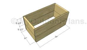 Wooden Trellis Plans How To Build A Planter Box With Trellis Myoutdoorplans Free