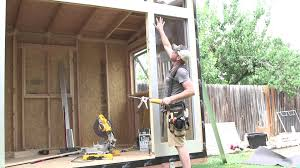 How To Build A Small Garden Shed by Studio Shed Do It Yourself Diy Backyard Sheds Youtube