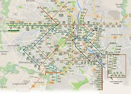 Metro Bus Routes Map by Noida Metro Rail Map Noida Metro Rail Corporation Ltd