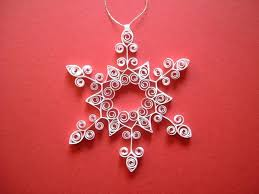 100 best material paper quilled snowflakes images on