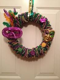 mardi gras bead wreath make a and colorful mardi gras wreath from wreaths