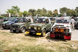 suzuki jeep 2016 14th edition of maruti suzuki desert storm starts on april 4 2016