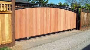 sliding wooden fence gate gazebo decoration