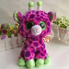 aliexpress buy gilbert giraffe ty beanie boos 1pc 25cm 10