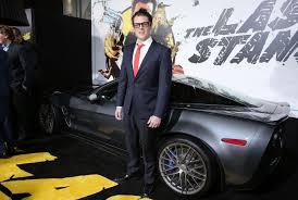 last stand corvette arnold schwarzenegger takes the last stand at s premiere