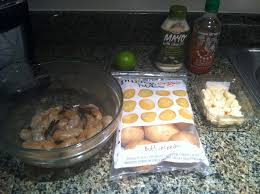 sriracha mayo kraft panko crusted shrimp w spicy aioli potatoes