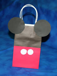 mickey mouse favor bags tutorial mickey mouse treat bag mimi s dollhouse