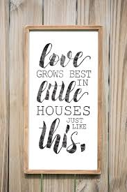 sign decor grows best in houses just like this wood sign home
