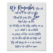 wedding memorial sign in loving memory wedding sign gifts on zazzle