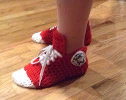 pattern crochet converse slippers free crochet pattern for converse slippers for adults traitoro for