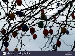German Easter Egg Decorations by Easter Eggs Decorations Colourful Street Decoration Hameln Hamlyn