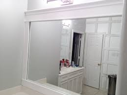 framing a bathroom mirror ideas framing a bathroom mirror