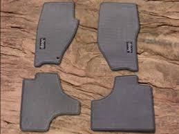 mopar carpet floor mats 08 10 liberty kk jeep