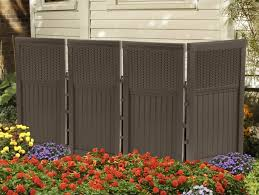 outdoor tanning privacy screen privacy fence ideas for backyard