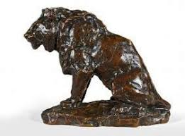 barye lion sculpture antique or reproduction barye bronze sculptures antiqueappraise