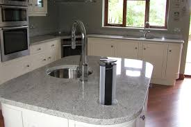 granite countertop u shaped kitchen cabinet design backsplash