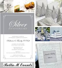 25th anniversary party ideas silver anniversary party ideas silver picture frames the meaning