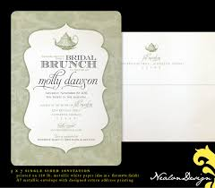 bridal lunch invitations photo nealon design bridal brunch image