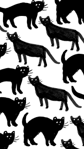 halloween background black cat 76 best fall u0026 halloween backgrounds images on pinterest