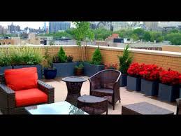 rooftop garden design youtube