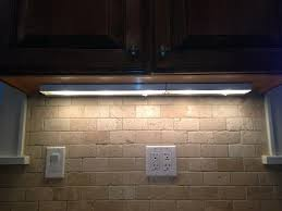 Kitchen Under Cabinet Lighting B Q Kitchen Cabinet Lights With Switch Tehranway Decoration