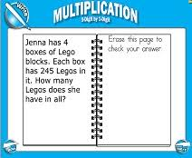 smart board lessons multi digit multiplication