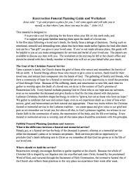 funeral planning guide fillable funeral planning guide worksheet edit print
